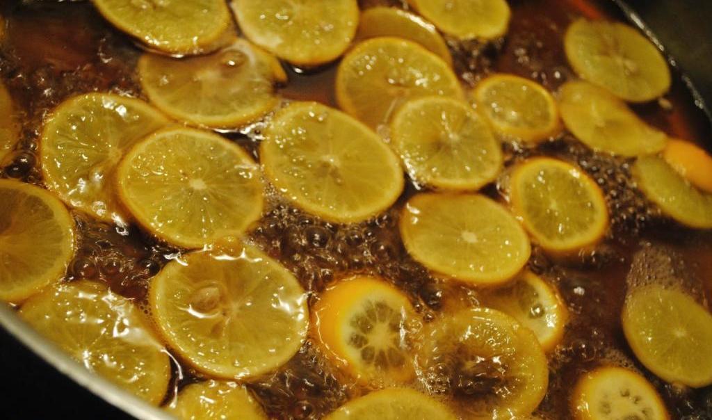 Цукаты из лимона в домашних